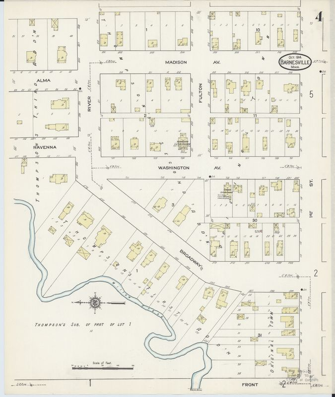 Page 4 of 1914 Barnesville Fire Insurance Map