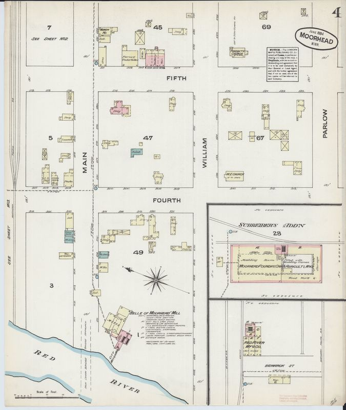 Page 4 of 1884 Moorhead Fire Insurance Map